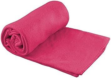 CB Home /& Style Fleecedecke Uni 130 x 170 cm Pink