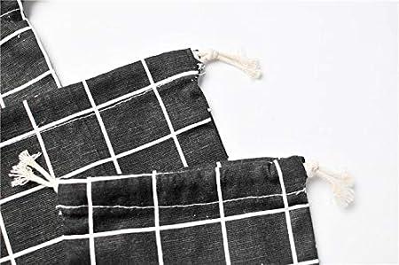 Chenqi b/éb/é cordon sac rangement enfants femmes jouet lingettes couche organisateur pliable portable maison voiture voyage maman nouveau-n/é p/épini/ère poche maison en plein air 3 PCS