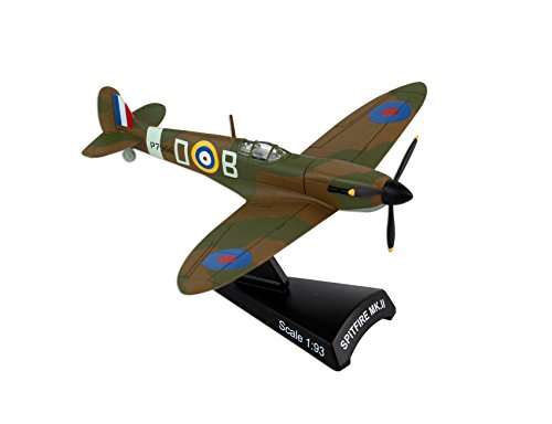 Postage Stamp Planes - Daron Postage Stamp Raf Spitfire MKII Battle of Britain Vehicle (1/93 Scale)