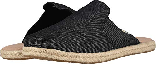 TOMS Women's Nova Mule Black Denim 9 M ()