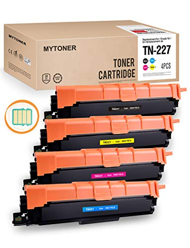 MYTONER TN227 Toner Compatible for Brother TN-227 TN223 TN-