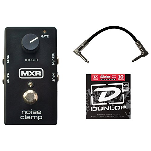 MXR M195 Noise Clamp Pedal w/1 Set of Strings and Patch Cable by MXR