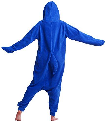 Amazon.com: Unisex Adult Animal Pajamas Plush One Piece Cosplay Shark (140-187cm): Clothing