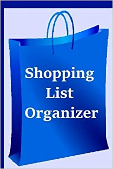 Shopping List Organizer: Plan your shopping with the shopping list organizer. Write in who to buy for, places to shop, items to buy and what to spend. ... shop more efficiently. Convenient carry size.