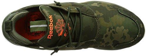 Sneaker Reebok Furylite CC camouflage verde militar Verde