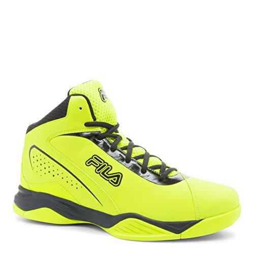 Fila Mens Contin Basket Sko Sfty / Blk
