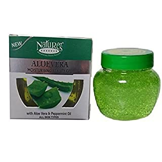 Nature's Essence Alovera Moisturising Beauty Gel with Aloe-Vera & Peppermint Oil - All Skin Types - 150g