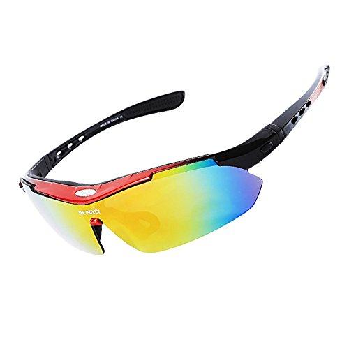 Esquí Ciclismo Sol Lentes B D De Alpino Grupos De Polarizadas Gafas Deportivas Pesca Protección Gafas 5 UV Unisex Intercambiables HECHEN IS8v4wxn
