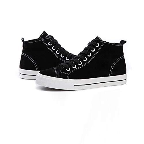 Noir Chaussures Yiwu uk7 Pour cn41 couleur De Size Noir Sport Appartements Et Eu40 Étudiants Mocassins SHqSzcA