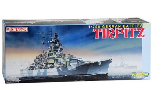 Dragon Models 1/700 German Battleship ''Tirpitz'' - Premium Edition