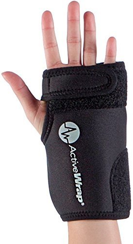 Hand and Wrist Ice / Heat Wrap - Perfect for Sprained Wrist, Arthritis Treatment for Hands, and Wrist Pain Therapy - Hot/Cold Gel Packs Included