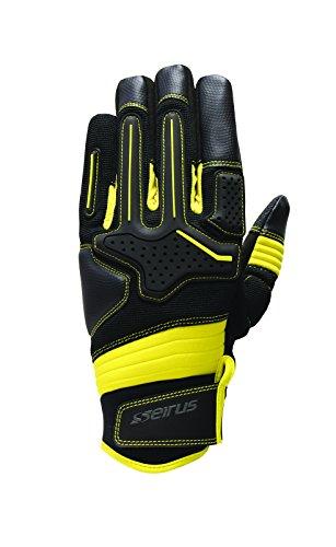 Seirus Innovation Men's Heatware Dakota Glove, XX-Large, Black/Yellow
