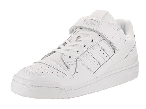adidas Men's Forum Lo Refined Originals Ftwht/Ftwht/Cblack Casual Shoe 11 Men - Men Forum Fashion
