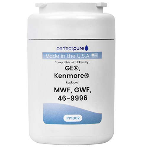 PerfectPure Water Filter Replacement for GE MWF, Made in the USA, 1 pack