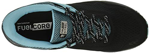 New Balance Women's Nitrel V2 FuelCore Trail Running Shoe Black/Thunder/Enamel Blue 5 B US by New Balance (Image #8)
