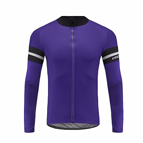 Uglyfrog 2018 UG09 New Spring&Autumn Outdoor Sports Mens Classic Long Sleeve Cycling Jersey Bicycle Shirt Triathon Clothing