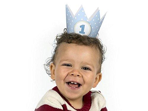 josep.h Geburtstag Party Kronen mit Zahlen Baby Junge M/ädchen Party Kopfschmuck Hut Prinzessin Prinz Kronen Dekoration Zubeh/ör Accessoires f/ür Fotoshooting