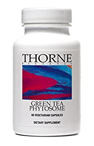 Thorne Research - Green Tea Phytosome - Complex of Green Tea Polyphenols and Phosphatidylcholin - 60 Capsules
