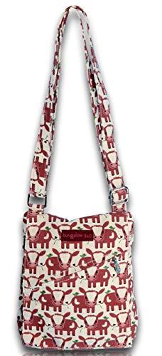 Bungalow 360 Small Messenger Crossbody Bag (Cow)