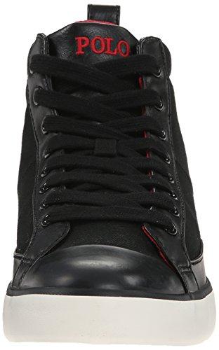 Polo Ralph Lauren Mens Clarke Fashion Sneaker Polo Nera