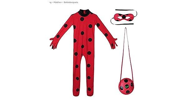 Z-siney Z-siney Seven Star Ladybug Girl Disfraz de Halloween Anime ...
