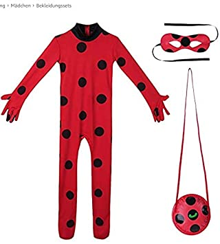 AMIIBO L Code Seven-Star Ladybug Halloween Anime Clothing Children's