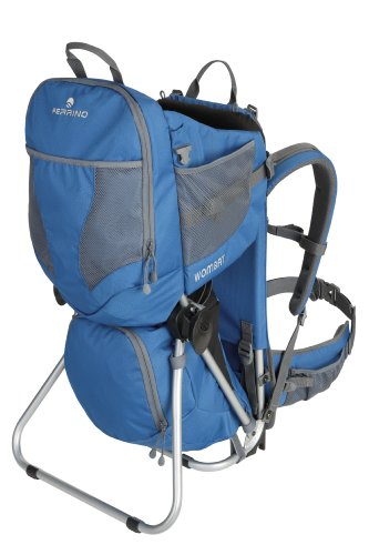Ferrino Wombat Baby Carrier, Blue