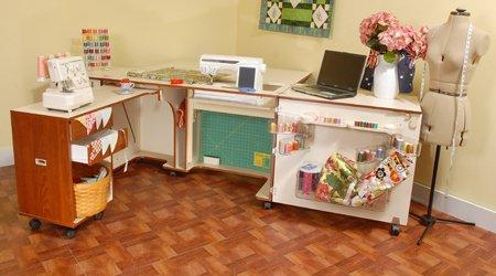 Kangaroo Kabinets - Aussie Sewing Cabinet in Teak