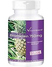 Bromelain 750mg - 180 kapslar - vegan - högdos - ananasenzym