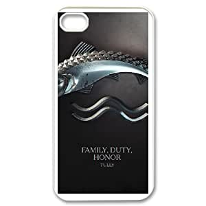 Game of Thrones For iPhone 4,4S Phone Case & Custom Phone Case Cover R72A650621