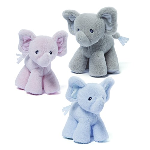 Gund Baby Bubbles Elephant Baby Single Rattle-Color will vary from GUND
