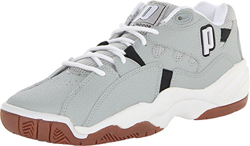 Prince NFS Indoor II Mens Shoe (Light Grey/White/Black) (6.0)