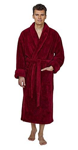 Arus Shawl Fleece Bathrobe Turkish product image
