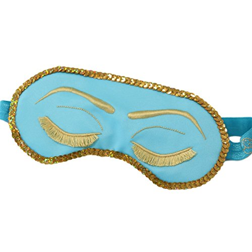 Breakfast at Tiffany's Sleep Mask Audrey Hepburn with Sequins -