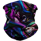 iHeartRaves Trippy Paint Party Seamless Mask Bandana