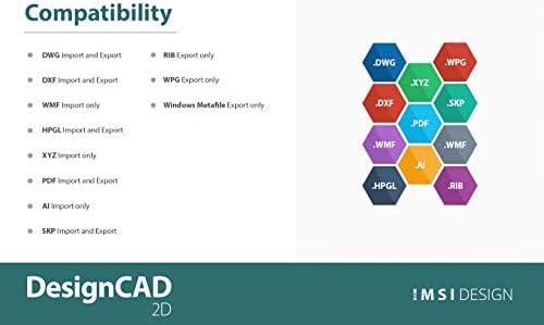 DesignCAD 2D 2020 [PC Download] WeeklyReviewer