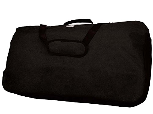Tahoe Saddle Blankets Pads Carry Bag Mesh Sides, Black, X-Large ()
