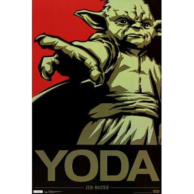 Star Wars - Yoda Jedi Master Pop Art Movie Poster