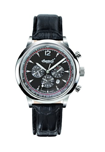 Ingersoll Men's IN2809BK San Antonio Fine Automatic Timepiece Black Dial Watch