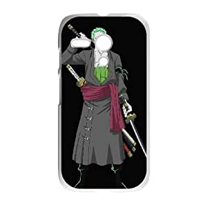 Motorola G Cell Phone Case White Zoro as a gift P4806642