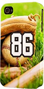 iphone covers Baseball Sports Fan Player Number 86 Plastic Snap On Flexible Decorative Apple Iphone 5c Case