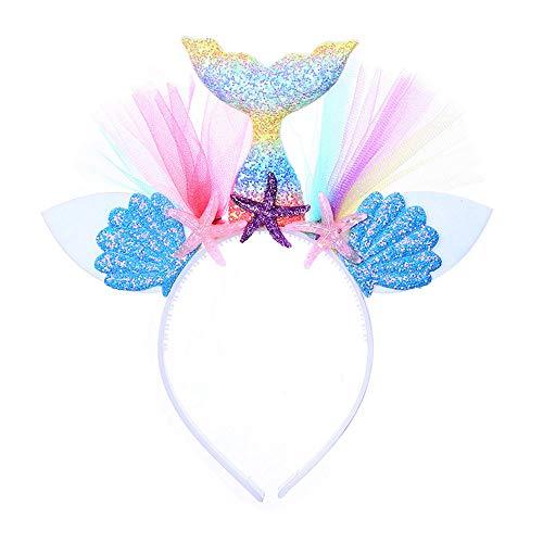 Little Mermaid Under The Sea Costumes - Mermaid Headband - Child + Adult