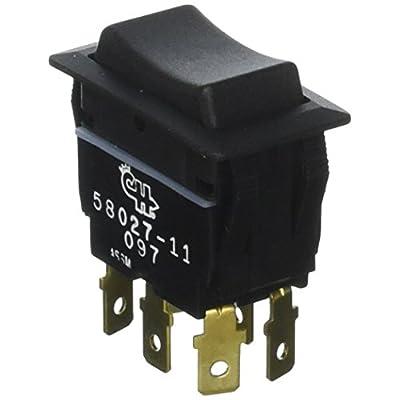Cole Hersee 58027-11-BP DPDT Rocker Switch: Automotive