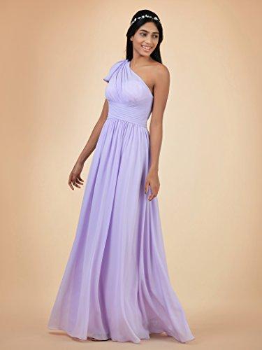 Party Maxi Alicepub Asymmetric Bridal Chiffon Gown Bridesmaid Champagne Dress Dress Long Prom H1YFwq1Wv