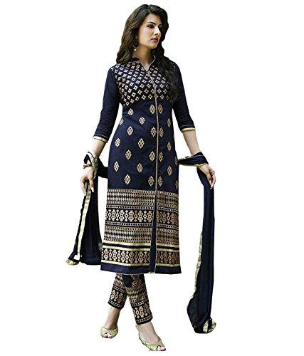 blue anarkali dress - 1