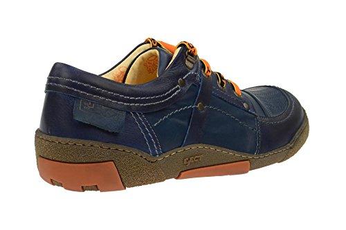Eject Herrenschuhe - sportliche Halbschuhe - Schnürschuhe ICE Blau