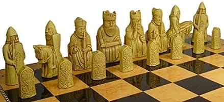 Set de ajedrez SAC Isla de Lewis Juego A102: Amazon.es: Juguetes y juegos