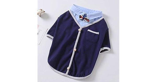 Amazon.com: J.Smiths Camisas para perro, primavera, otoño ...