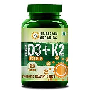Himalayan Organics Vitamin D3 5000iu 120 Tablets