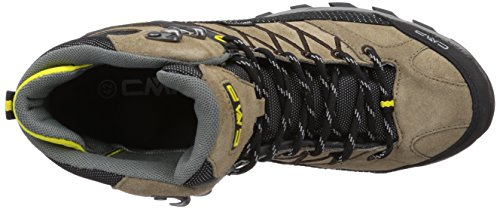 CMP RIGEL - zapatillas de trekking y senderismo de cuero hombre marrón - Braun (TEAK Q907)